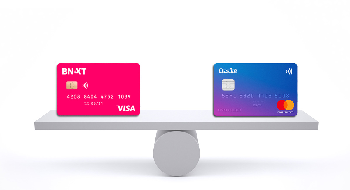 Comparación Bnext vs Revolut