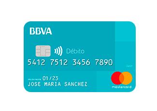 Tarjeta de débito BBVA