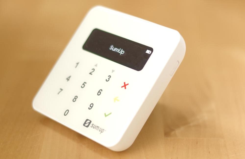 Lector de tarjetas de crédito SumUp Air