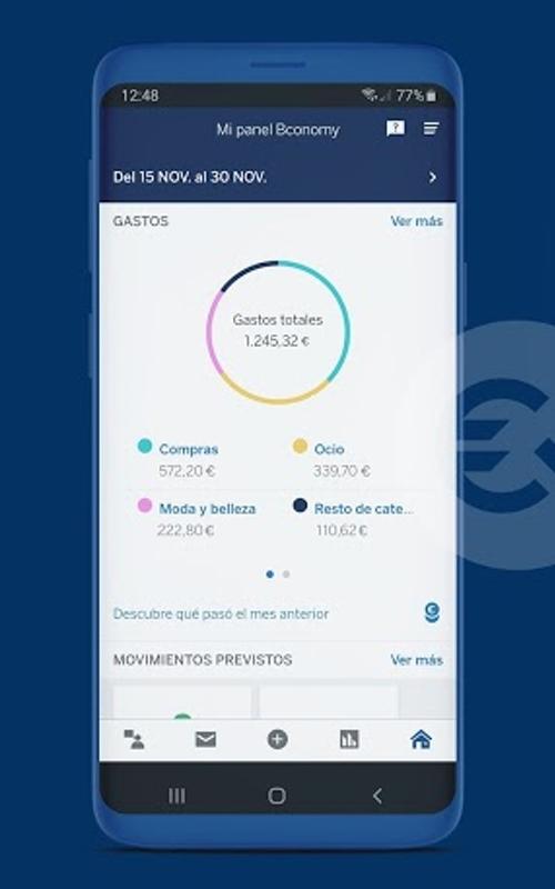 Aplicación para smartphones BBVA