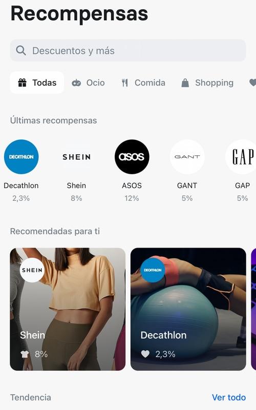 Revolut ofrece recompensas en las compras online en los comercios adheridos